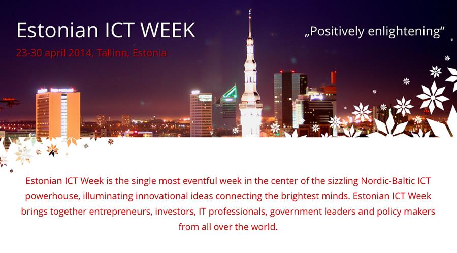 Estonian ICT Week 2014